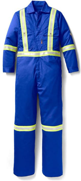 FR Royal Blue Reflective Coverall, Rasco FR RBR755-S