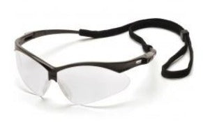 Safety Glasses-Pyramex PMXTREME SB6310SP - Black Frame - Clear Lens