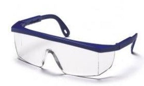 Safety Glasses-Pyramex Integra SN410S- Blue Frame - Clear Lens