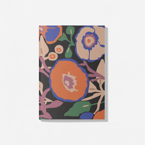 Bloom Heritage Wallpaper notebook
