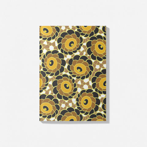 Marigold Heritage Wallpaper notebook