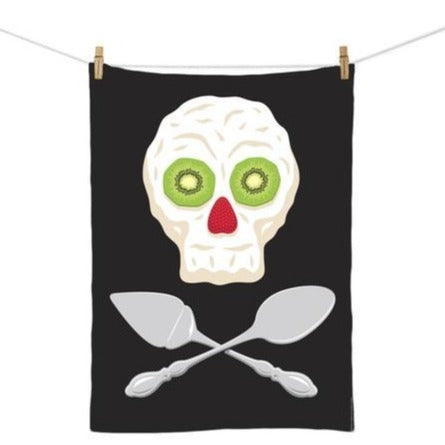 Pavlova Pirate Tea Towel