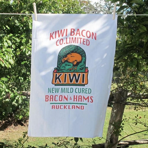 Kiwi Bacon Tea Towel