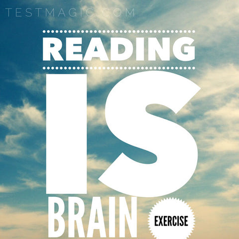 Reading is important! (Says Erin from TestMagic)