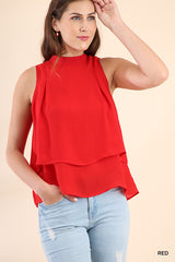 Red spring top
