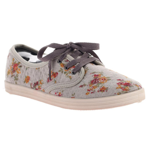 DIMMI - IMPROVE in GREY FLORAL Oxfords WOMEN FOOTWEAR DIMMI