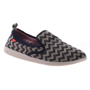 DIMMI - PUSH in NAVY ZIG ZAG Sneakers WOMEN FOOTWEAR DIMMI