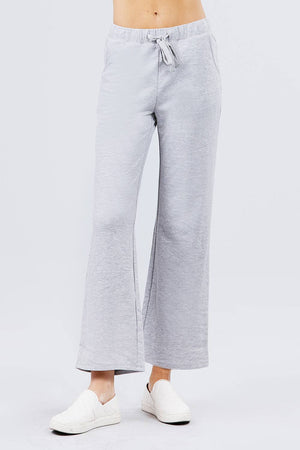 French Terry Long Pants Knitted Belle Boutique
