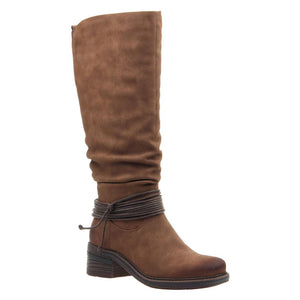 MADELINE - CRANBERRY in NEW BROWN Knee High Boots WOMEN FOOTWEAR MADELINE