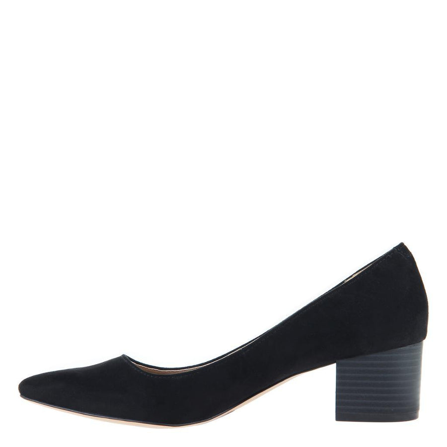 MADELINE - NOVEL in BLACK Closed Toe Pumps WOMEN FOOTWEAR MADELINE