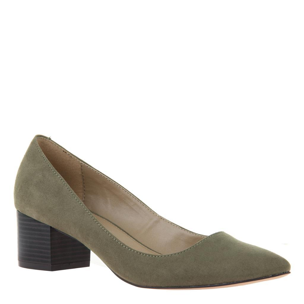 MADELINE - NOVEL in KHAKI Closed Toe Pumps WOMEN FOOTWEAR MADELINE