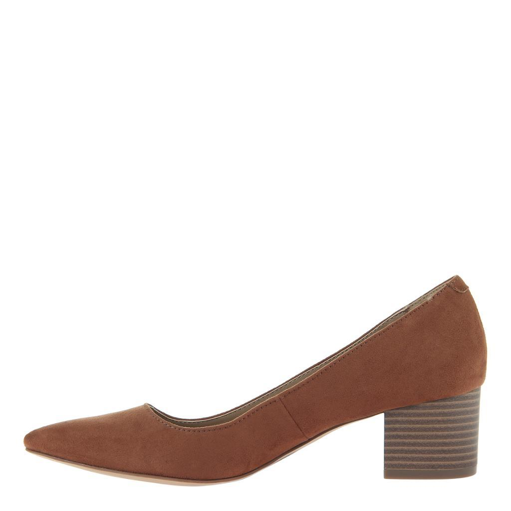 MADELINE - NOVEL in WHISKEY Closed Toe Pumps WOMEN FOOTWEAR MADELINE