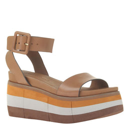 NAKED FEET - ALTEZZA in BOXWOOD Wedge Sandals WOMEN FOOTWEAR NAKED FEET