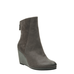 NAKED FEET - AMAVI in DUST GREY Mid-Shaft Boots WOMEN FOOTWEAR NAKED FEET