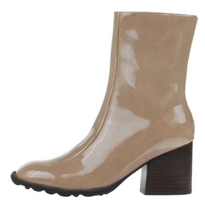 NAKED FEET - REPORT in ECRU Mid-Shaft Boots WOMEN FOOTWEAR NAKED FEET