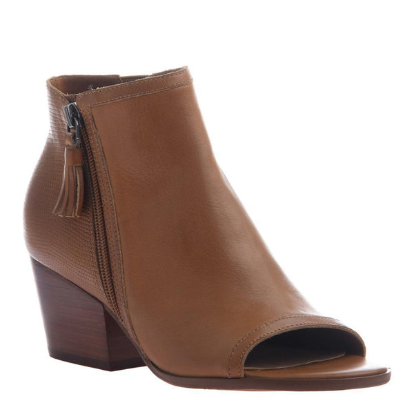 NICOLE - ANIA in BUTTERSCOTCH Open Toe Booties WOMEN FOOTWEAR NICOLE