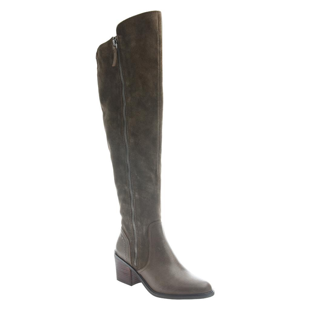 NICOLE - CLOONEY in MINT Over The Knee Boots WOMEN FOOTWEAR NICOLE