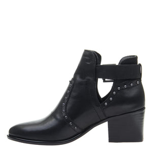 NICOLE - KELBY in BLACK Ankle Boots WOMEN FOOTWEAR NICOLE