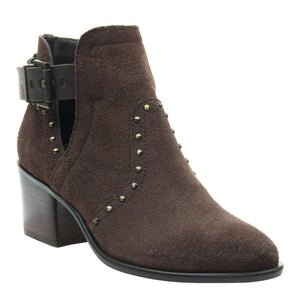 NICOLE - KELBY in DARK BROWN Ankle Boots WOMEN FOOTWEAR NICOLE