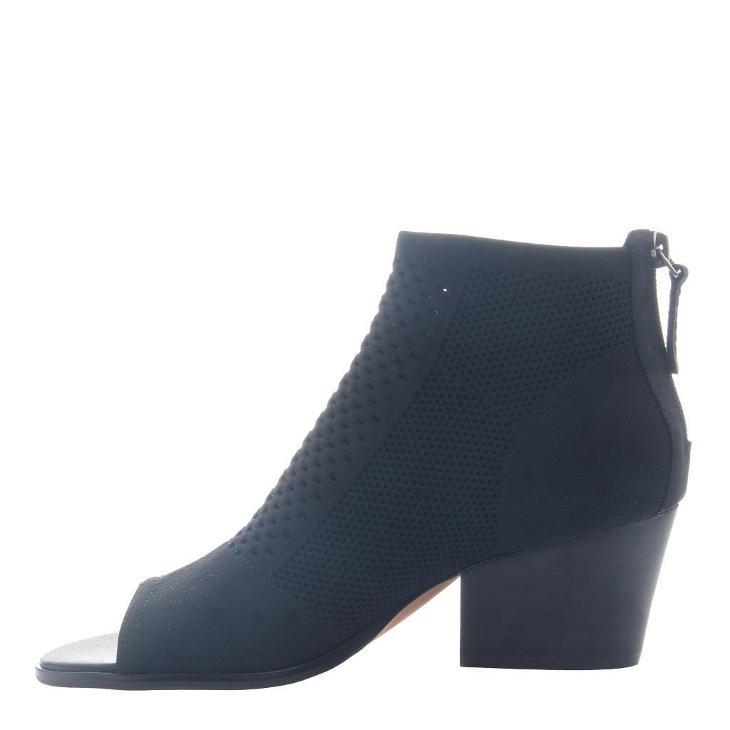 NICOLE - RAYNA in BLACK Open Toe Booties WOMEN FOOTWEAR NICOLE