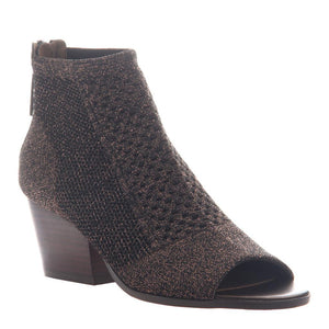 NICOLE - RAYNA in BRONZE Open Toe Booties WOMEN FOOTWEAR NICOLE