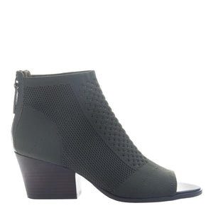 NICOLE - RAYNA in DARK GREEN Open Toe Booties WOMEN FOOTWEAR NICOLE