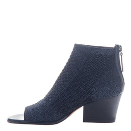 NICOLE - RAYNA in NEW BLUE Open Toe Booties WOMEN FOOTWEAR NICOLE