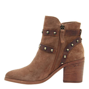 NICOLE - SHIRI in HONEY Ankle Boots WOMEN FOOTWEAR NICOLE