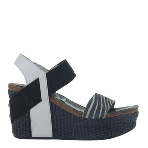 OTBT - BUSHNELL in WINTER WHITE Wedge Sandals WOMEN FOOTWEAR OTBT