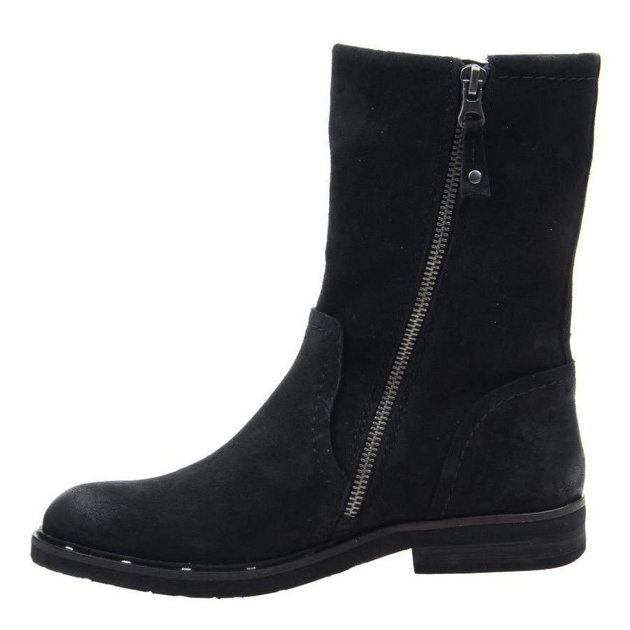 OTBT - CAUSEWAY in BLACK Mid-Shaft Boots WOMEN FOOTWEAR OTBT