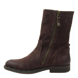 OTBT - CAUSEWAY in DARK BROWN Mid-Shaft Boots WOMEN FOOTWEAR OTBT