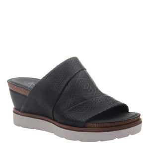 OTBT - EARTHSHINE in BLACK Wedge Sandals WOMEN FOOTWEAR OTBT