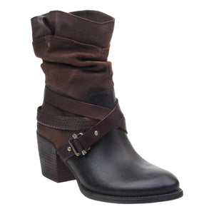 OTBT - HAY RIDE in COFFEEBEAN Mid-Shaft Boots WOMEN FOOTWEAR OTBT