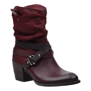 OTBT - HAY RIDE in NEW RED Mid-Shaft Boots WOMEN FOOTWEAR OTBT