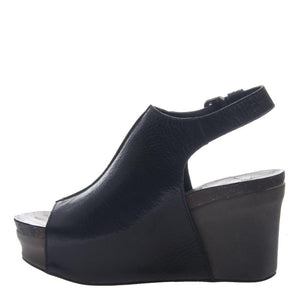 OTBT - JAUNT in BLACK Wedge Sandals WOMEN FOOTWEAR OTBT