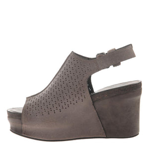 OTBT - JAUNT in GREY POWNDER Wedge Sandals WOMEN FOOTWEAR OTBT