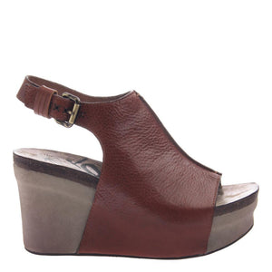 OTBT - JAUNT in MOCHA Wedge Sandals WOMEN FOOTWEAR OTBT