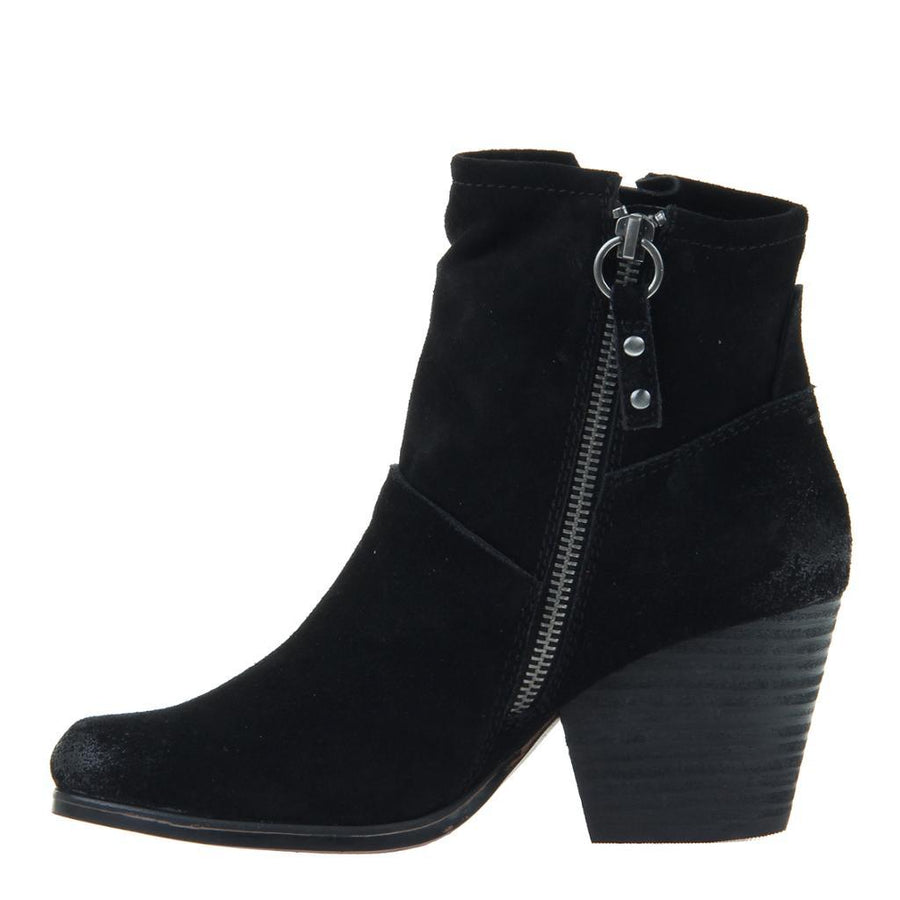 OTBT - LONG RIDER in BLACK SUEDE Ankle Boots WOMEN FOOTWEAR OTBT