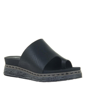 OTBT - OVERSKY in BLACK Wedge Sandals WOMEN FOOTWEAR OTBT
