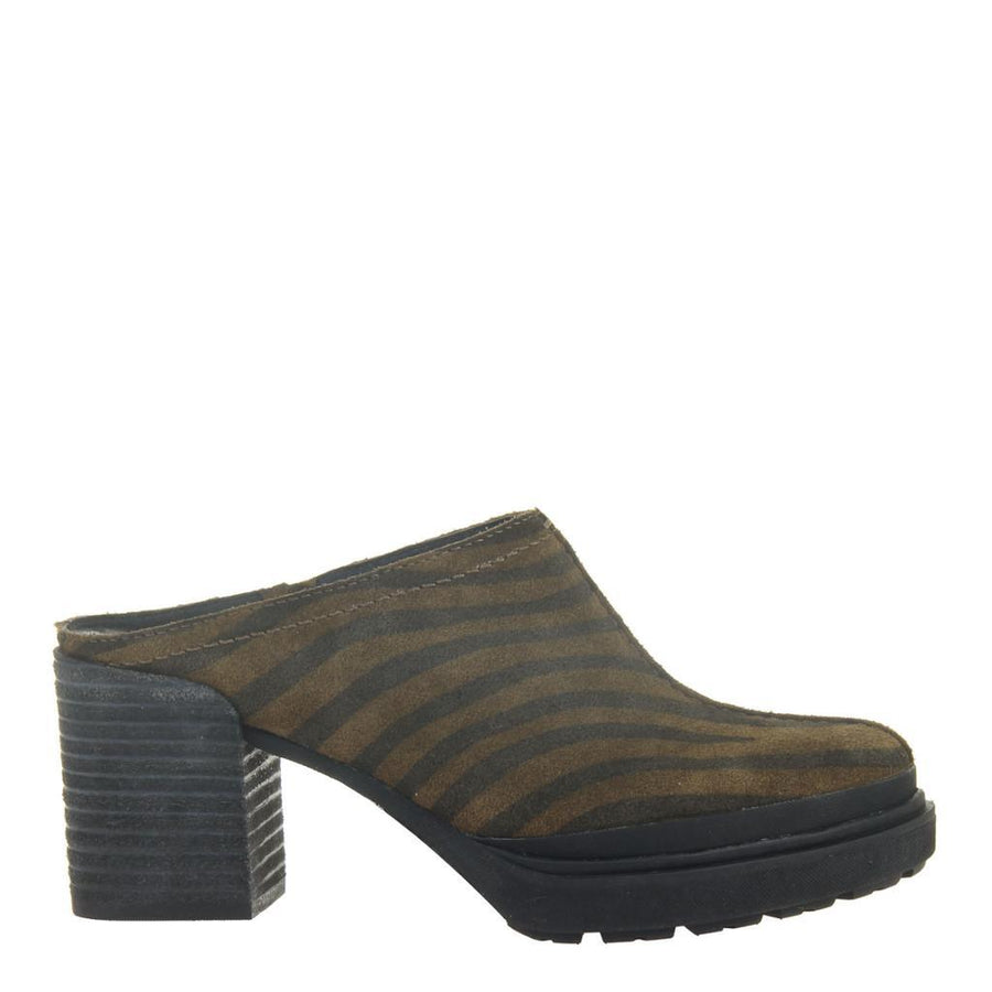 OTBT - SPLIT in TIGER PRINT Mules WOMEN FOOTWEAR OTBT