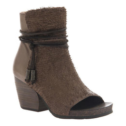 OTBT - VAGABOND in OTTER Open Toe Booties WOMEN FOOTWEAR OTBT