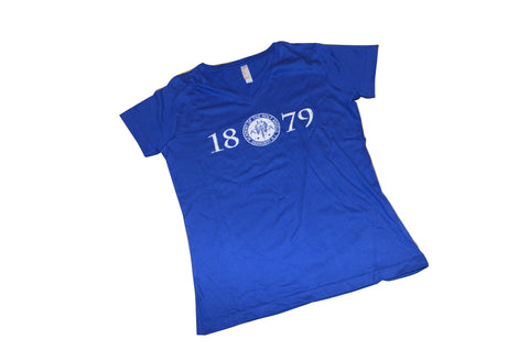Royal Blue 1979 Vneck T-Shirt