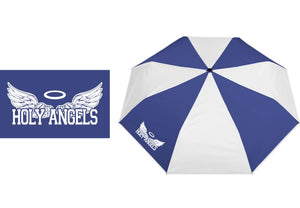 Holy Angels Royal and White Umbrella