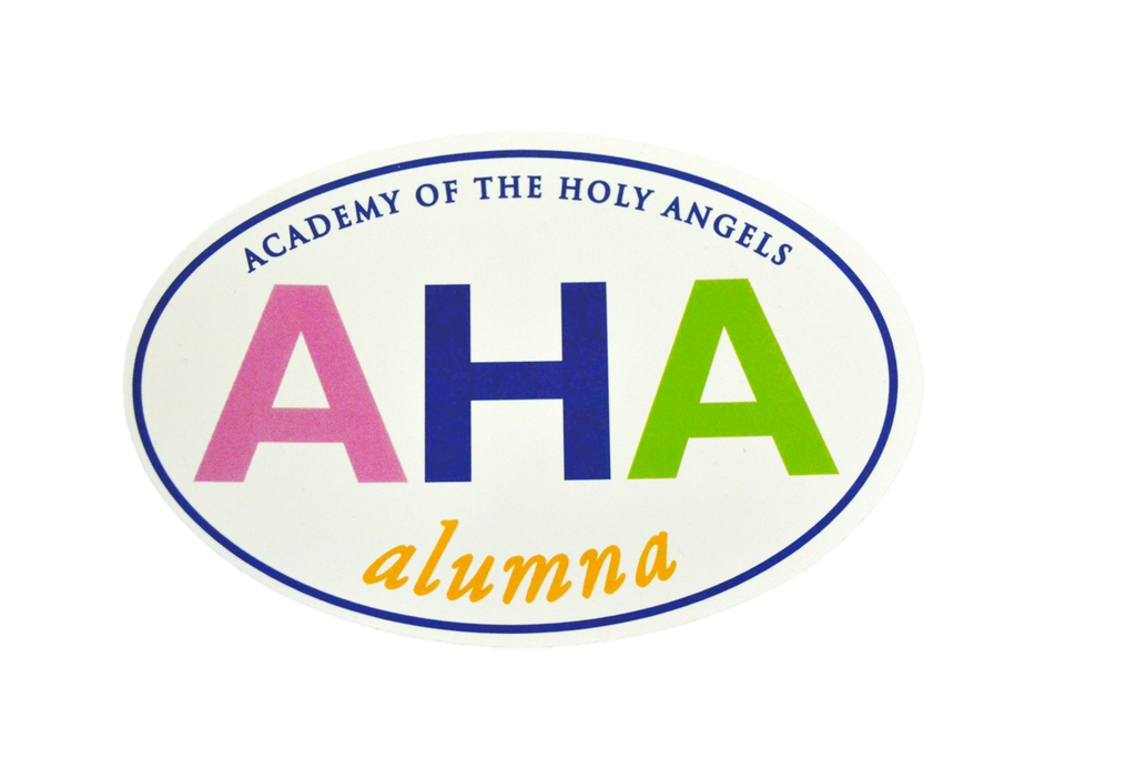 Alumna Car Magnet