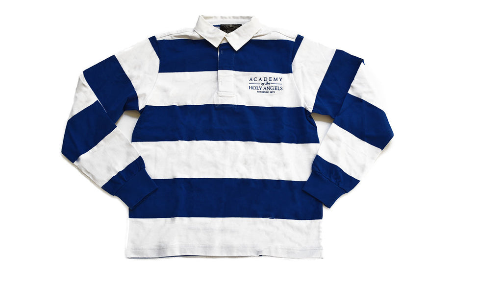 Classic Rugby Shirt by Charles River