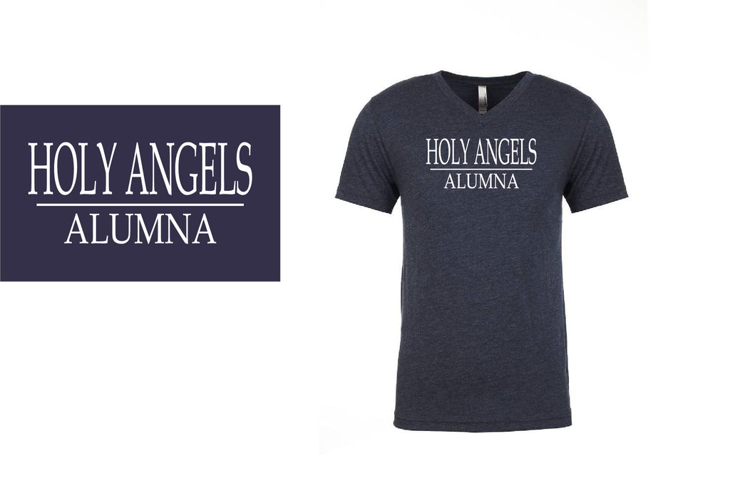 Holy Angels Alumna V-Neck T-Shirt