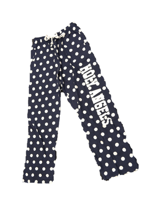 Flannel PJ Pants Polka Dot