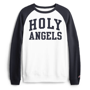 Limited Edition Raglan Sleeve Style Crew Sweatshirt