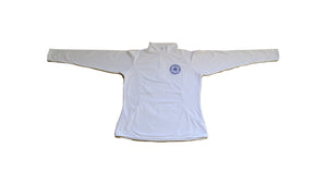 Ladies Sport-Wick 1/4 Zip Pullover White