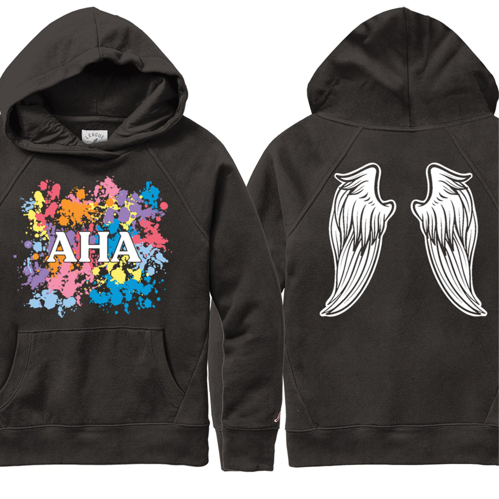 Limited Edition Fashion Angels Paint Splatter Hoodie